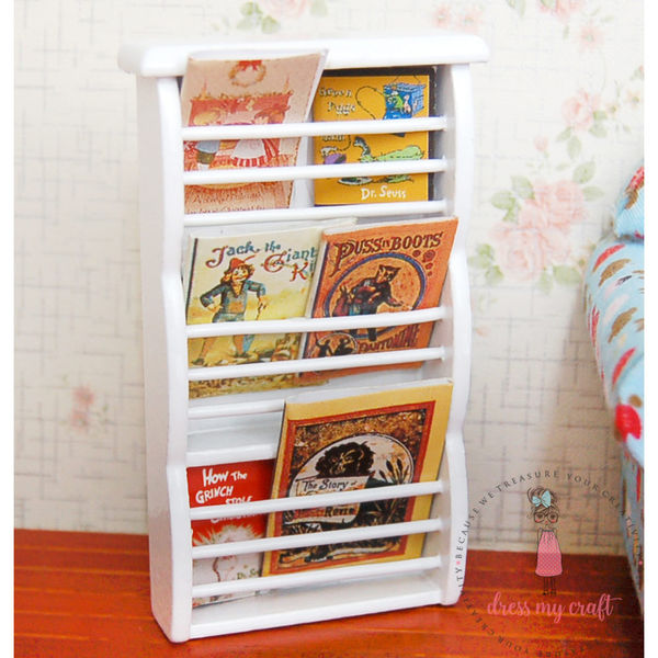 Miniature Book Shelf