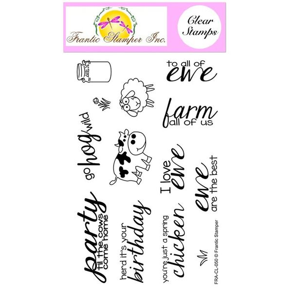 Party Animals Stamp