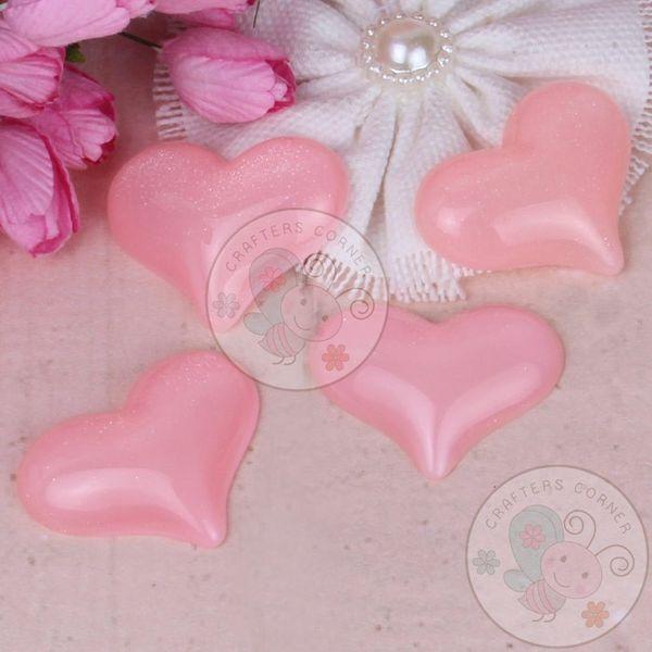 Baby Pink 3D Heart