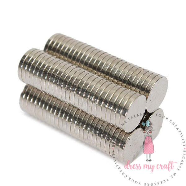 Neodymium Super Strong Magnets - 10 MM X 1.5 MM