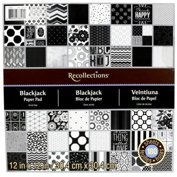 Blackjack - Recollections Paper Pad