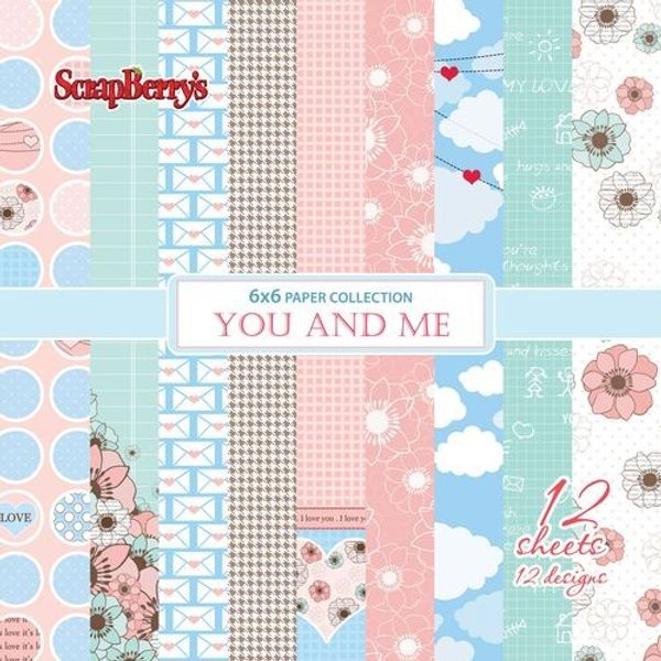 You And Me Paper Set