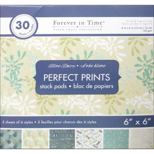 "Blue Dawn - Perfect Prints Stacks 6""x6"""