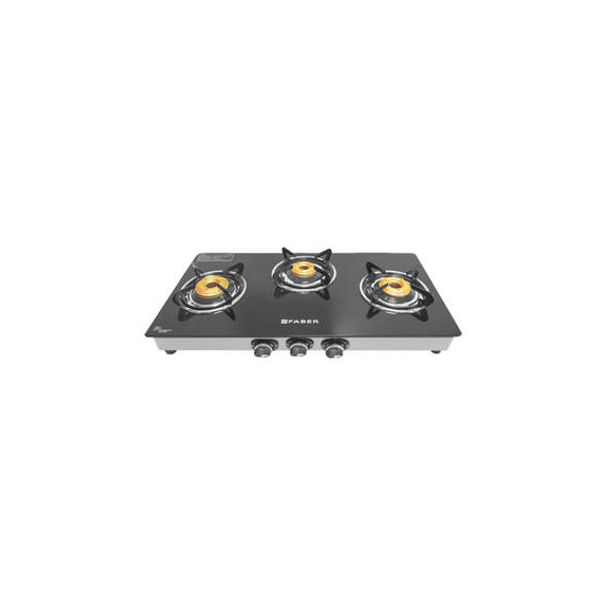 Faber 3 Burner Automatic Ignition Gas Cooktop (Splendor 3BB SS)