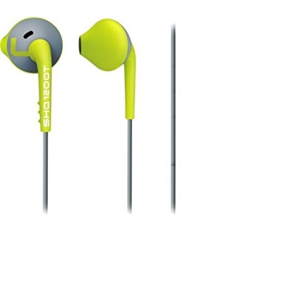 Philips ActionFit MP3 Headphones (Green/Grey)