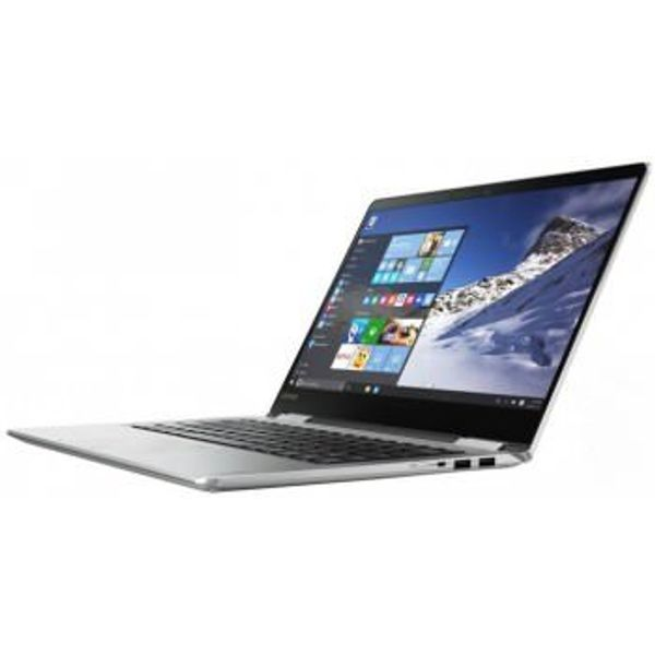 Lenovo 80V4000YIH 14-inch Laptop (7th Gen Core i7-7500U/8GB/256GB/Windows 10/2GB Graphics), Silver