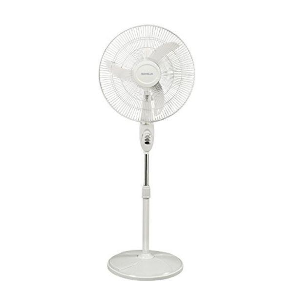 Havells Sprint 450mm 55-Watt High Speed Pedestal Fan (White)