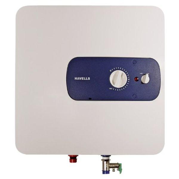 Havells Bello 25-Litre 2000-Watt Storage Water Heater (White and Blue)