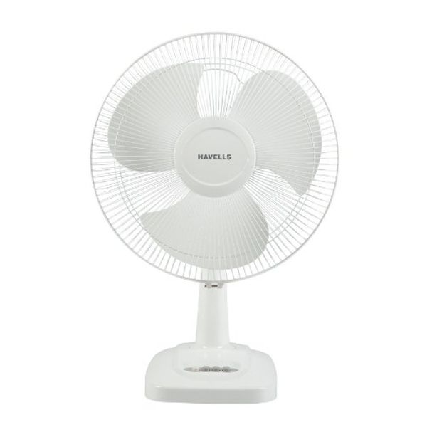 Havells Velocity Neo HS 400mm Table Fan (White)