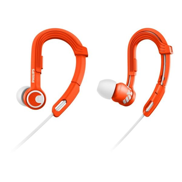 Philips SHQ3300OR/00 ActionFit Sports In-Ear Headphones (Orange) (Unboxed)