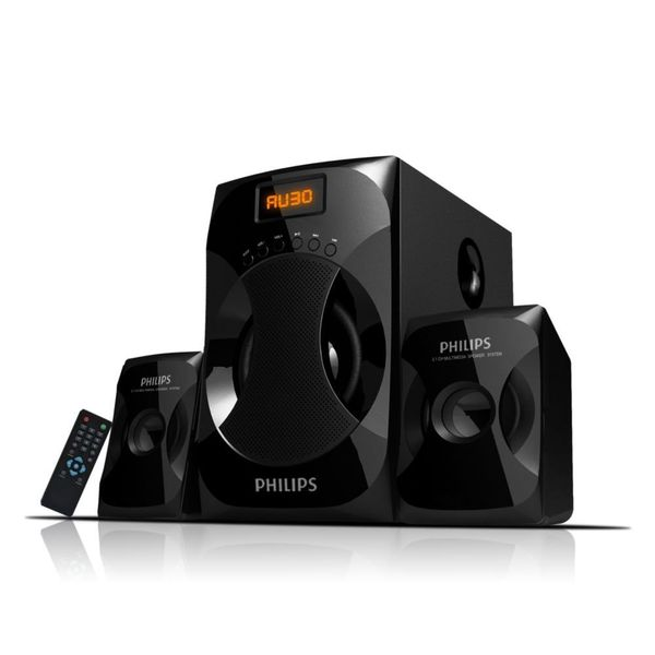 Philips MMS-4040F/94 2.1 Multimedia Speaker System (Black)