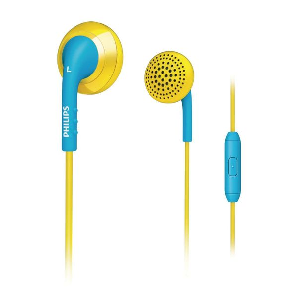 Philips SHE2675YB/10 In-Ear Headset (Yellow/Blue)