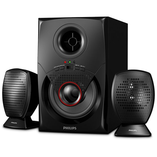 Philips IN-MMS2020F/94 2.1 Speakers (Black)