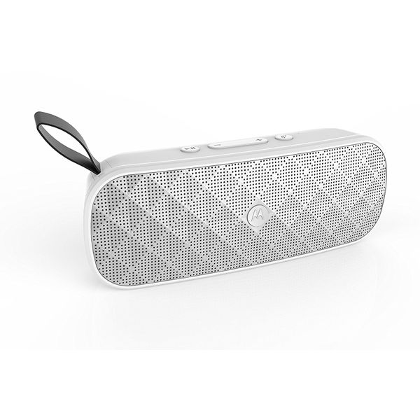 Motorola Sonic Play+ 200 Bluetooth Speaker (White)