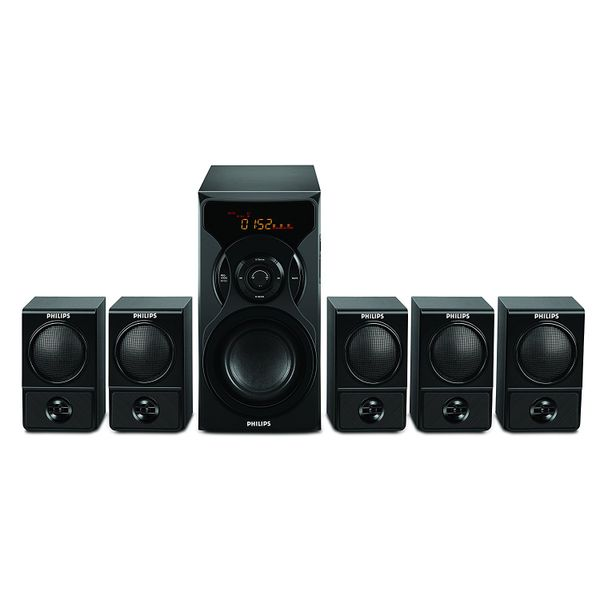 Philips SPA6600 5.1 Multimedia Speaker System (Unboxed)