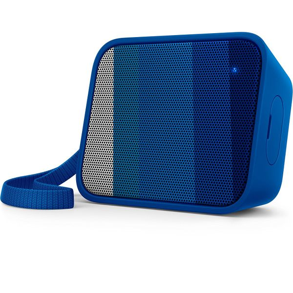 Philips BT110R/00 Splash-Proof Wireless Portable Bluetooth Speaker (Blue)