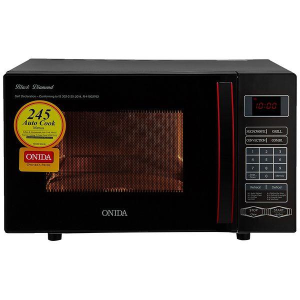 Onida Black Diamond MO20CES12B 20-Litre Microwave Oven
