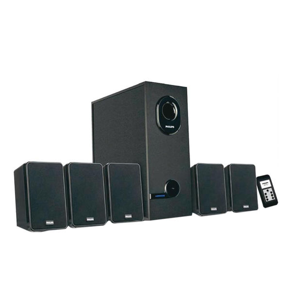Philips DSP2600/00 5.1 Multimedia Surround Speaker System