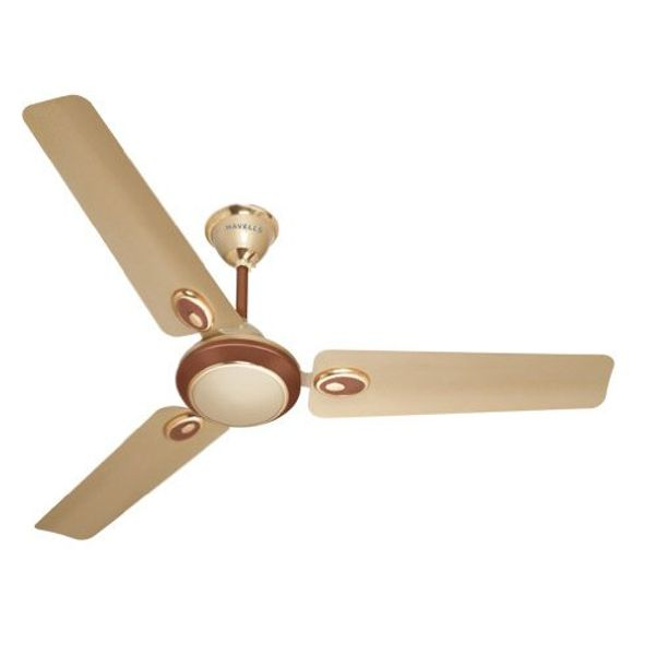 Havells Fusion 1200mm Ceiling Fan (Brown and Beige)