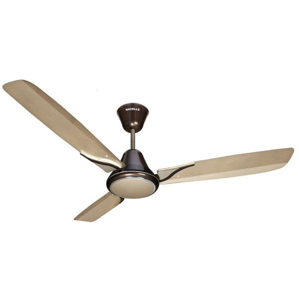 Havells Spartz 1200mm Decorative Ceiling Fan (Gold Mist Brown)