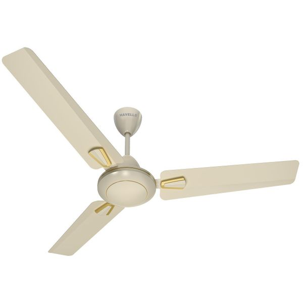 Havells Vogue 1200mm Decorative Ceiling Fan (Pearl Ivory)