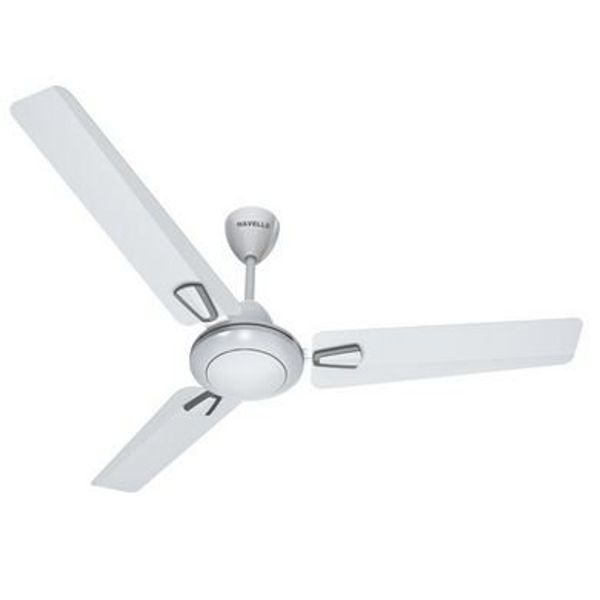 Havells FHCVOSTPWS48 Vogue 72-Watt Ceiling Fan (Pearl White Silver)