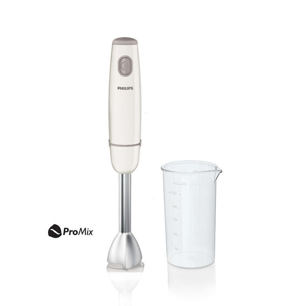 Philips Daily Collection HR1602/00 550-Watt Hand Blender with Chopper