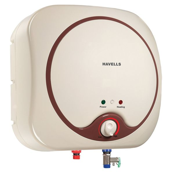 Havells Quatro 25-Litre Storage Water Heater (Ivory and Brown)