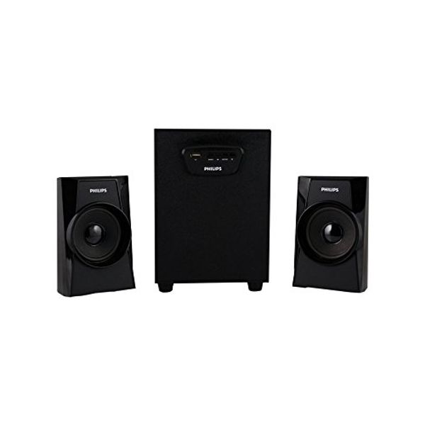 Philips MMS-1400 2.1 Multimedia Speaker System (Black)