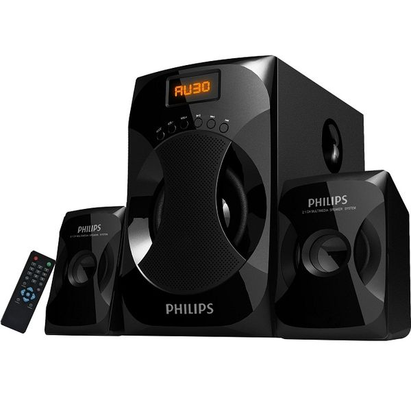 Philips Explode MMS4040F Multimedia Speakers (2.1 Channel)