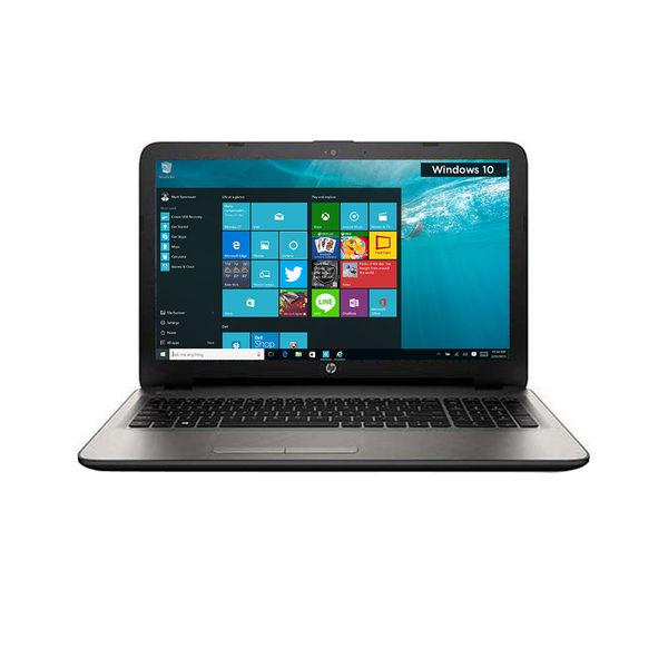HP15-ac116TX Notebook (N8M19PA) (5th Gen Intel Core i3- 4GB RAM- 1TB HDD- 39.62 cm (15.6)- Windows 10- 2GB Graphics) (Silver)