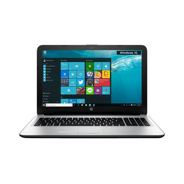 HP15-ac117TX (N8M20PA) Notebook (5th Gen Intel Core i3- 8GB RAM- 1TB HDD- 39.62 cm (15.6)- Windows 10- 2 GB Graphics) (Silver)