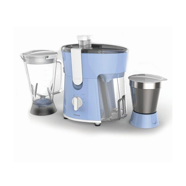 Philips HL7575 Juicer Mixer Grinder Blue and White (Unboxed)