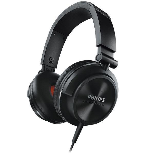 Philips SHL3210BK DJ Monitor Style On-the-ear Headphone (Black)