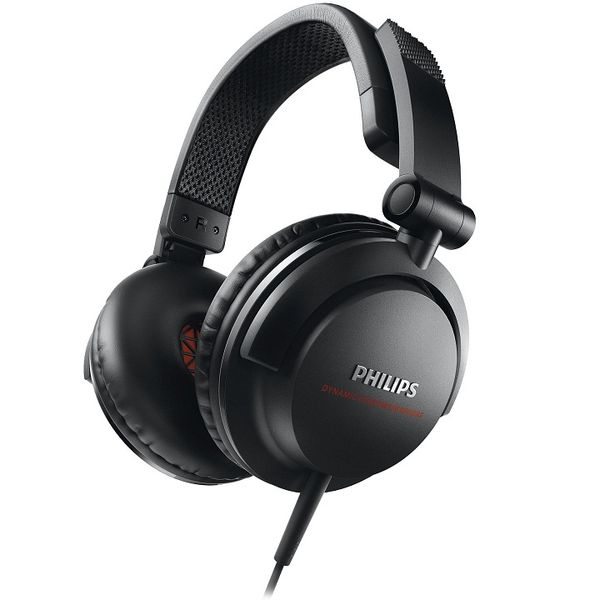 Philips SHL3300BK/00 DJ Monitor Style On-the-ear Headphone (Black)