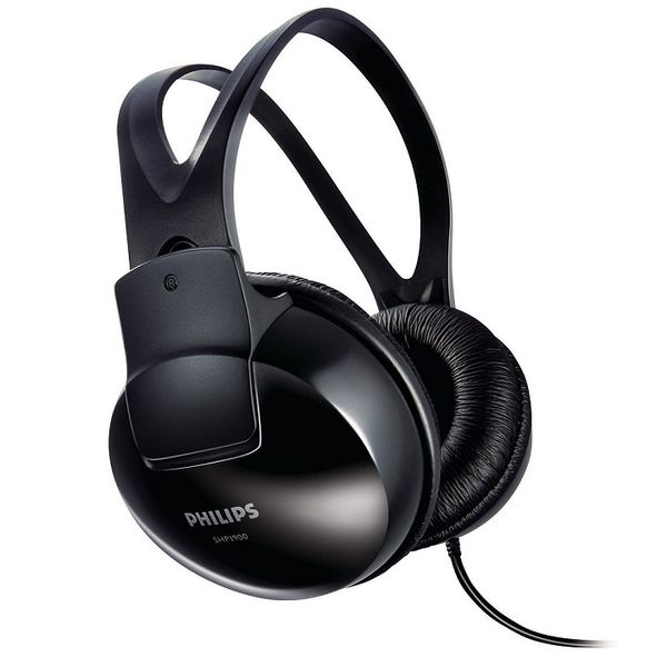 Philips SHP1900/97 Wired Headphones (Black, Over-the-ear)