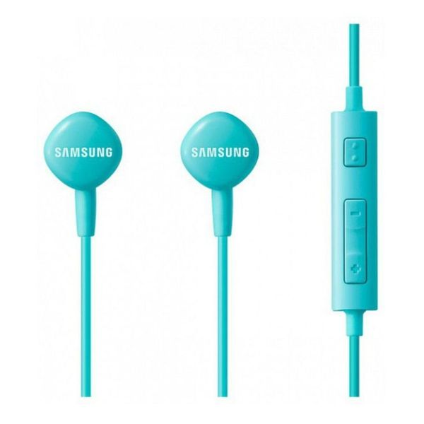 Samsung EO-HS130DWEGIN Ear Buds Wired With Mic Earphones Blue