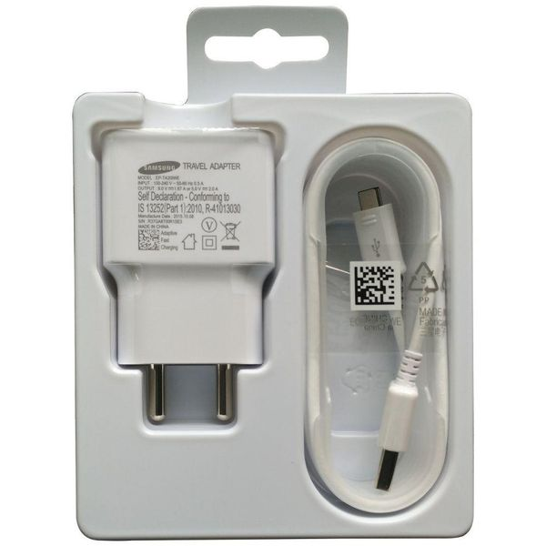 SAMSUNG Travel Adapter (EP-TA20IWEUGIN) WHITE Battery Charger (Unboxed)