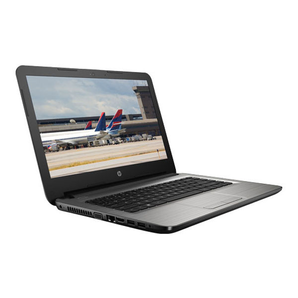 HP Core i3 - (4 GB/1 TB HDD/Windows 10 Home) X0S87PA 14-AM020TU Notebook  (14 inch, Turbo SIlver, 2.19 kg)