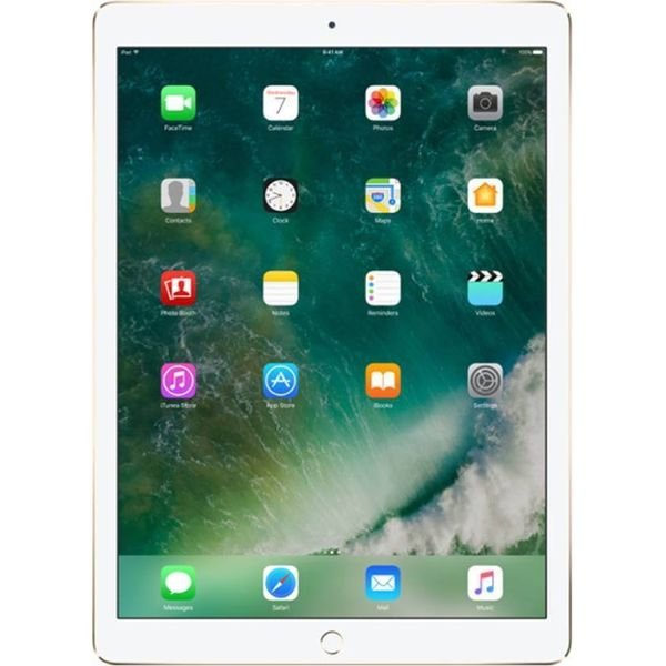 Apple iPad 128 GB 9.7 inch with Wi-Fi Only  (Gold)