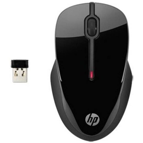 HP X3500 Wireless Comfort Mouse  (USB) (Unboxed)