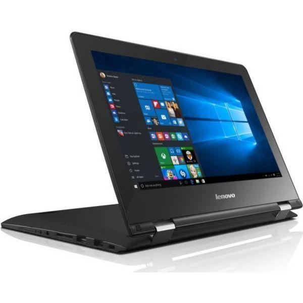 Lenovo Yoga 300 Pentium Quad Core - (4 GB/500 GB HDD/Windows 10 Home) 80M100FKIN Yoga 2 in 1 Laptop  (11.6 inch, Black)