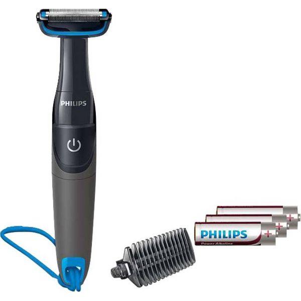 Philips BG1025/15 Body Groomer For Men  (Black) (Unboxed)