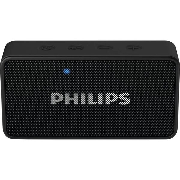 Philips BT64B/94 Portable Bluetooth Mobile/Tablet Speaker  (Black, 1 Channel) (Unboxed)
