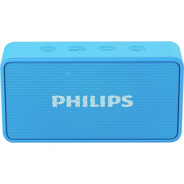 Philips BT64A/94 Portable Bluetooth Mobile/Tablet Speaker  (Blue, Mono Channel)