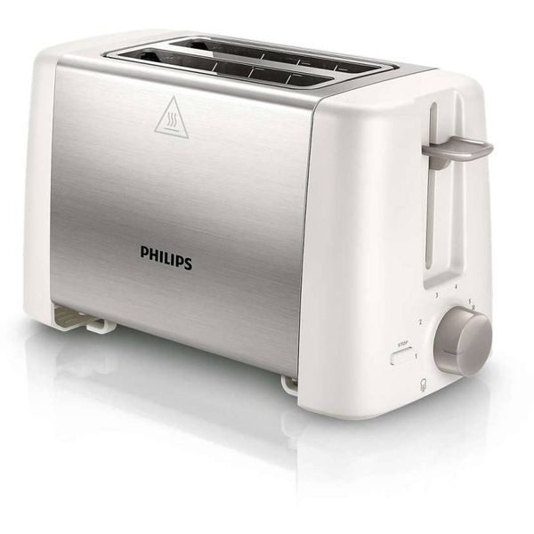 Philips HD4825/01 800 W Pop Up Toaster  (White)