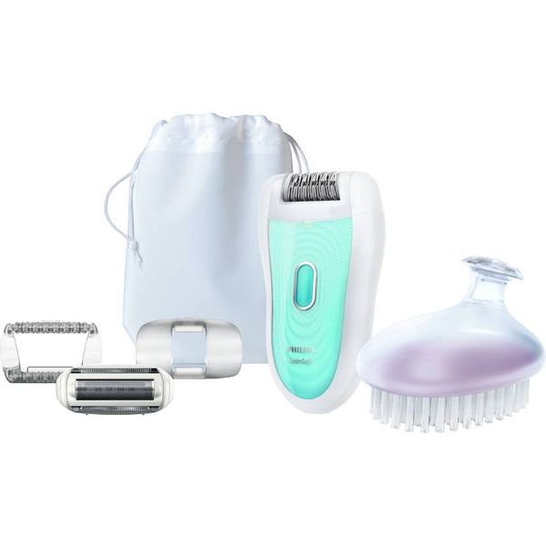 Philips Satinelle Essential Epilator for Women  (White) (Unboxed)