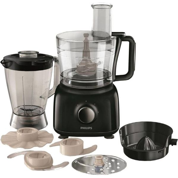 Philips HR 7629/90 650 W Food Processor  (Black)