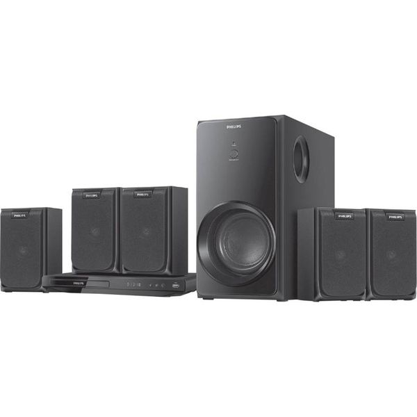 Philips HTD2520 5.1 Home Theatre System  (Black)