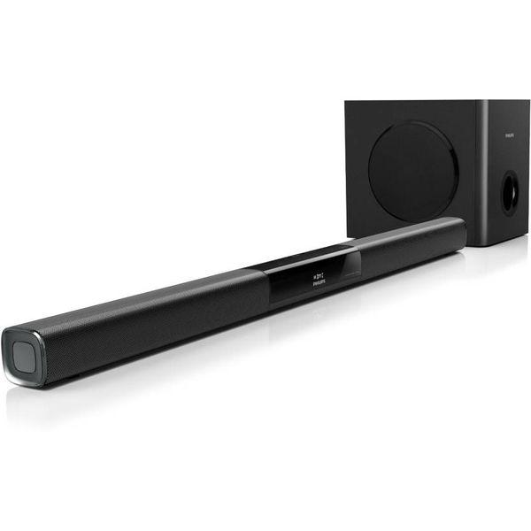 Philips HTL3140B/12 Bluetooth Soundbar  (Black, 2.1 Channel)